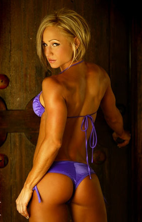 Muscle womens bums photos